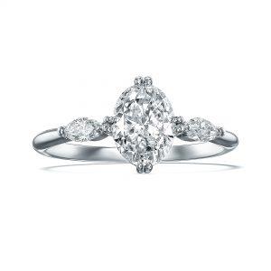 טבעת אירוסין AGAM