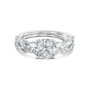 טבעת אירוסין A&B